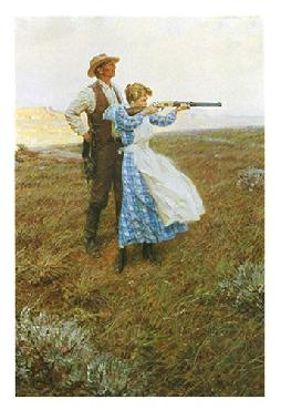 Tom Lovell Target Practice Open Edition on Paper