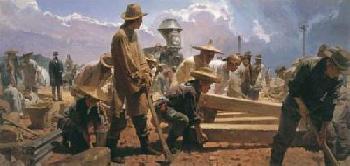 Mian Situ Ten Miles in One Day Victory Camp, Utah, April 28, 1869 Artist