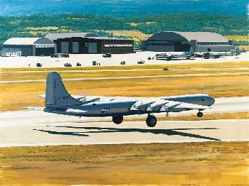 K. Price Randel Texas Giant - Consolidate B-36 Peacemaker Canvas