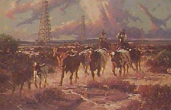 Robert Summers Texas Gold Artist