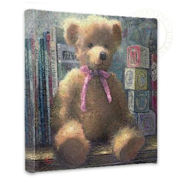 Thomas Kinkade Trusted Friend - Rose Bud Open Edition Wrapped Canvas