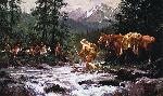 Howard Terpning They Came From Nowhere