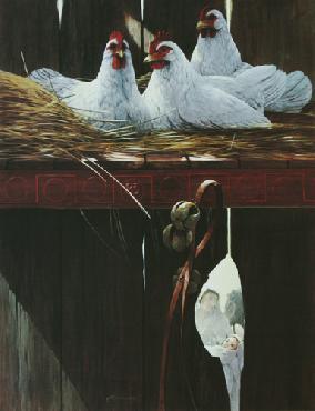Mario Fernandez Three French Hens