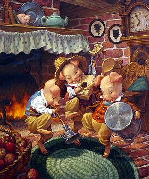 Scott Gustafson Three Little Pigs