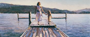 Steve Hanks Time with Mom Signed Open Edition on Paper