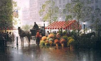 G. Harvey A Touch of Spring - Philadelphia Artist