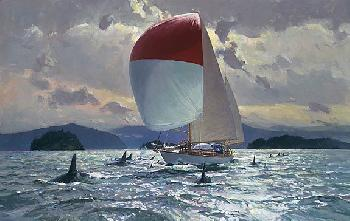 Christopher Blossom Traveling in Company