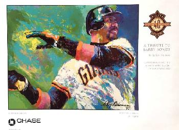 LeRoy Neiman Tribute to Barry Bonds Open Edition on Paper