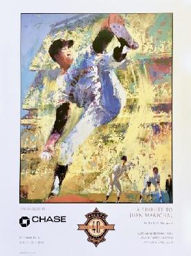 LeRoy Neiman Tribute to Juan Marichal Open Edition on Paper
