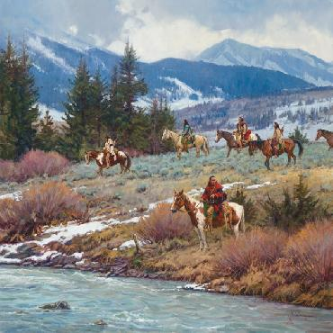 Martin Grelle Troubled Waters Signed Open Edition on Paper