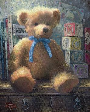 Thomas Kinkade Trusted Friend - Blue Bell SN Paper
