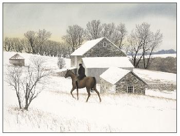 Peter Sculthorpe Turkey Hill Giclee on Paper