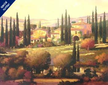 Max Hayslette Tuscan Gold Print #1/55 Artist
