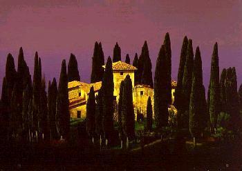 Chris Young Tuscan Villa