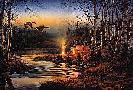 Terry Redlin Twilight Glow