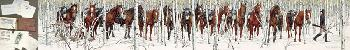 Bev Doolittle Two Indian Horses WSS From Where Silence Speaks Set 1986