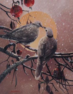 Mario Fernandez Two Turtle Doves