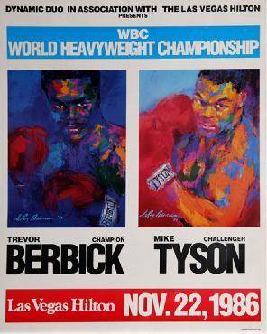 LeRoy Neiman Tyson vs Berbick