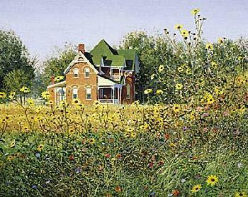Ned Young Victorian In The Meadow