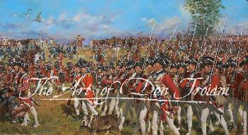 Don Troiani Victory in Yorktown Giclee on Canvas