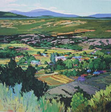 William Hook View Over Valdez Print #30/30 Aritst
