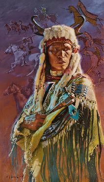David Yorke Visions Giclee on Canvas