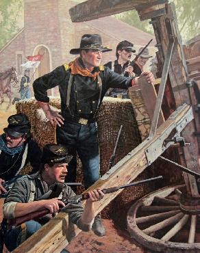 Don Stivers Wait at Vicksburg John Wayne