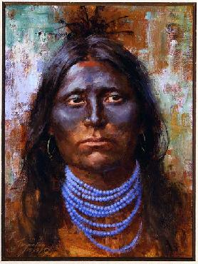 Howard Terpning War Paint Artist