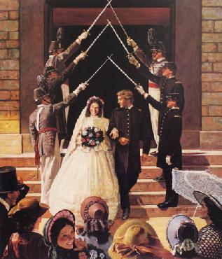 Don Stivers Wedding at West Point