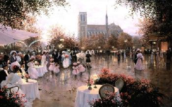 Christa Kieffer A Wedding - Party Notre Dame, Paris