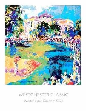 LeRoy Neiman Westchester Golf