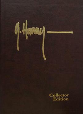 G. Harvey The Western Series Leather Bound Book
