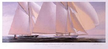 John Mecray Westward Giclee on Canvas