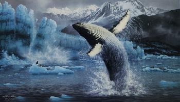Michael Sieve White Thunder - Humpback Whales Artist