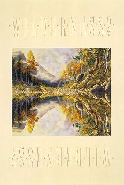 Bev Doolittle Wilderness! Wilderness? Hand-Signed by Bev Doolittle
