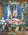 Gordon Window Garden Print #55/55 Artists Proof on Paper
