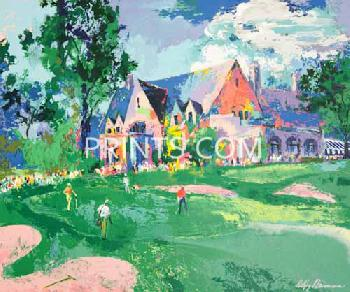 LeRoy Neiman Winged Foot Open Edition Serigraph on Paper