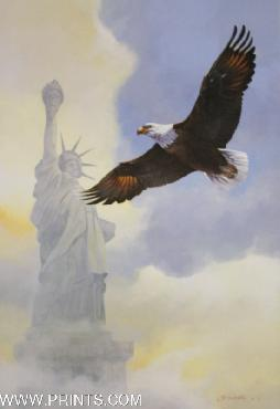 Mario Fernandez Wings Across America - Plate I Artist