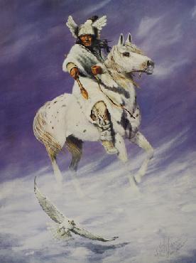 Hermon Adams Winter Hawk