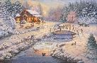 Thomas Kinkade Winter Retreat
