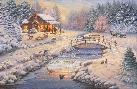 Thomas Kinkade Winter Retreat