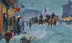 Mort Kunstler Winter Riders