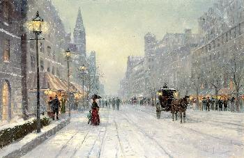 Thomas Kinkade Winter