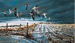 Terry Redlin Winter Snows