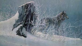 Robert Bateman Winter Trackers