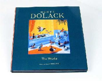 Monte Dolack The Works Book Signed Hardcover Book