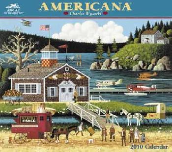 Charles Wysocki Americana 2011 Wall Calendar