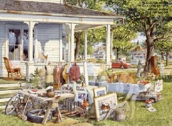 Charles Peterson Yard Sale