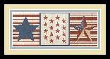 Sarah Adams Americana Stars And Stripes II