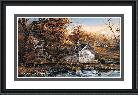 Terry Redlin Autumn Shoreline